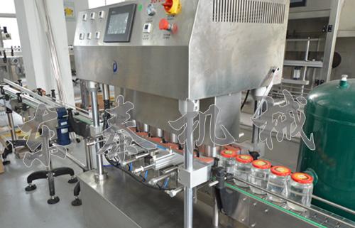 成武玻璃瓶封口机械设备